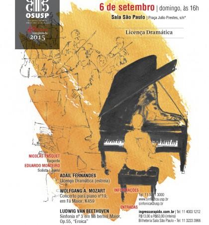 OSUSP realiza concerto comemorativo de 40 anos na Sala São Paulo