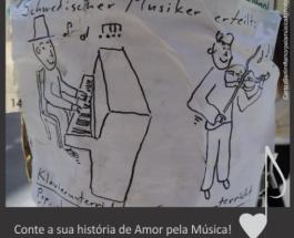 Conte a sua história de Amor pela Música!