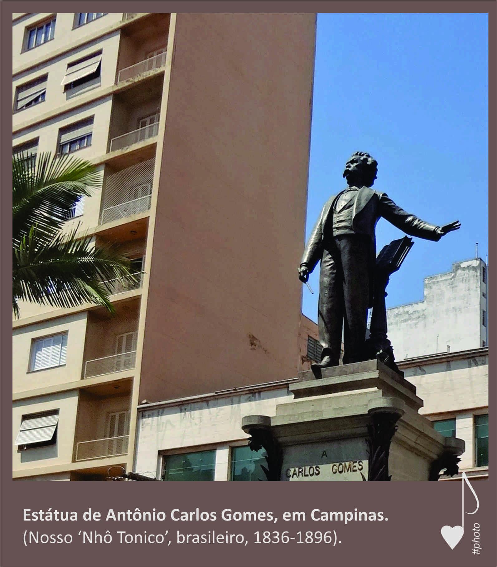 Setembro é o mês em homenagem ao maestro Carlos Gomes